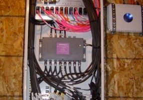 Coax, Cat5, fiber optic Wiring-box