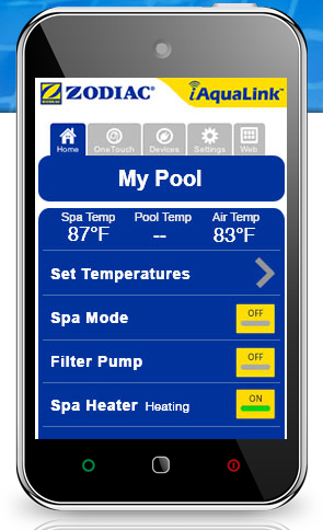 iAquaLink 2.0 Extends Home Control Systems to the Pool