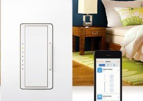 Lutron Dimmer App for home lighting control