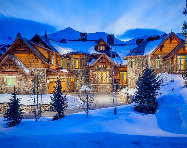 Captivating Home Automation System In Mountains Good Looking
