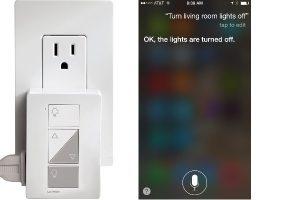 control lights with siri