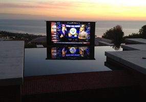 How One Touch Delivers Outdoor TV by the Beach