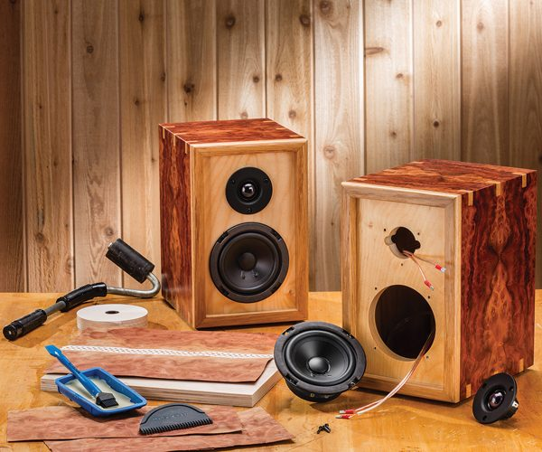 Make your own home stereo speakers with rockler diy for Build your own home website