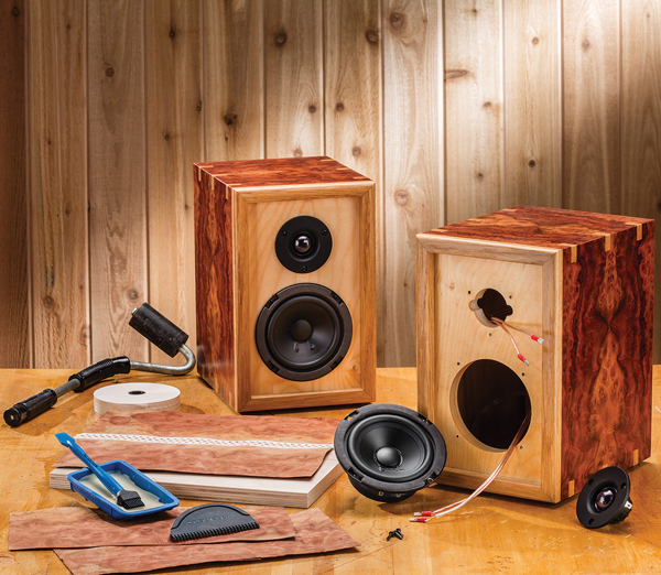 Make your own home stereo speakers with rockler diy for Custom build your home