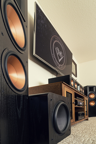 Home Theater Subwoofer >> Home Theater Subwoofer Puts Boom In This Room Electronic House