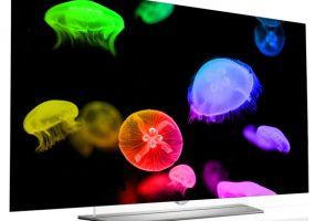 LG EF9500 flat OLED 4K TVs