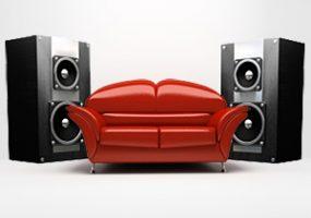 best speaker system placement