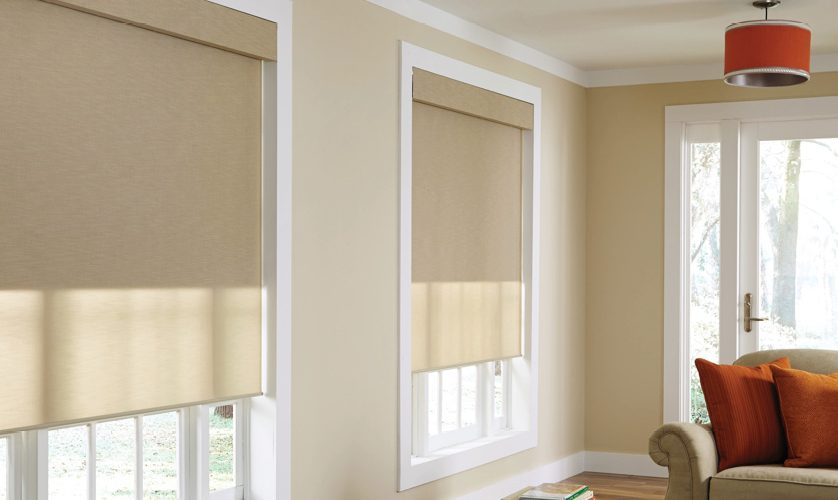 Motorized shades battery operated shading electronic house for How to install motorized blinds