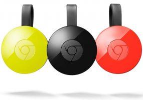 Google Chromecast Media Streamers