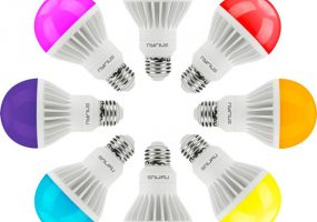 Nyrius Smart LED light bulbs