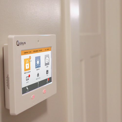 Qolsys sensors work with the IQ Panel