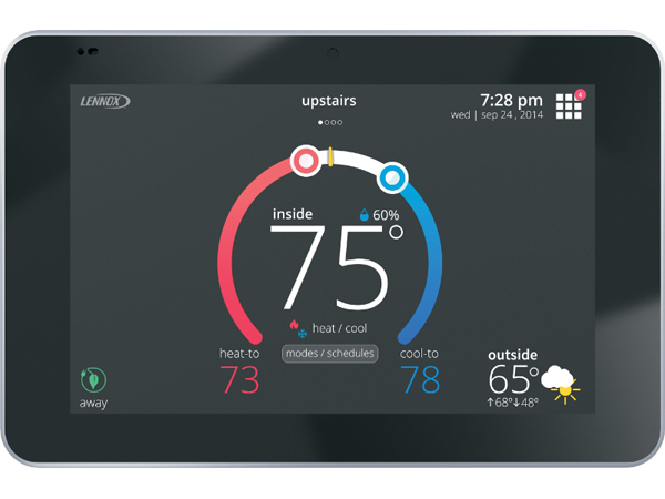 lennox touchscreen thermostat. lennox icomfort s30 wifi thermostat touchscreen m