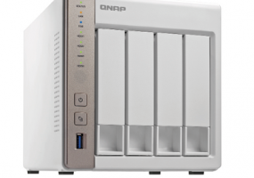 The TS-451 NAS drive from QNAP ($519) provides a safe storage solution for high-res music, plus other entertainment content.