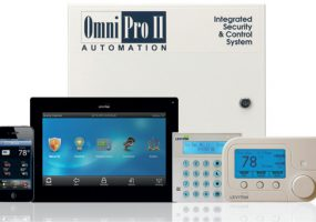 The OmniProII system has roots in the home security business, but is equally adept at operating other electronic systems.