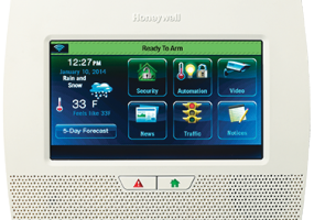 The LynxTouch L700 marries security and home automation features.