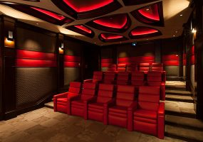 Ferrari-inspired Home Theater Combines Muscle and Style