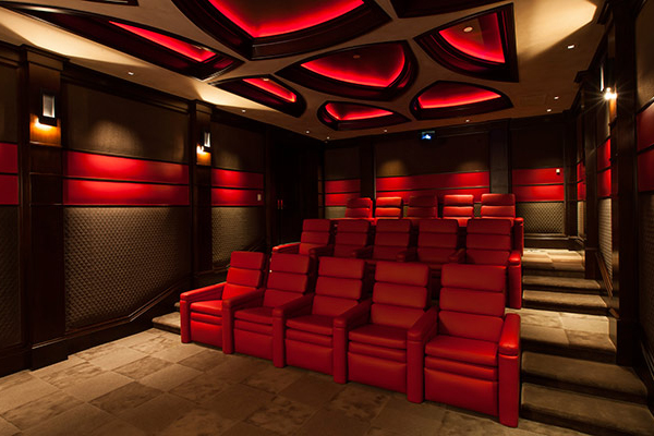 Best Home Theater Design Dallas Inspired.