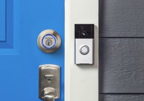 Ring with Kwikset Kevo smart lock