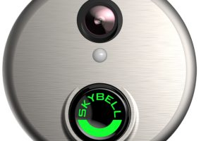 SkyBell HD doorbell home security cameras
