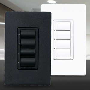 Crestron really wants you to ditch that light switch. They are certainly making it enticing with the companyu0027s new CLW-DELV wireless dimmers. & Crestron InfiNET EX Wireless Dimmer Switches - Electronic House