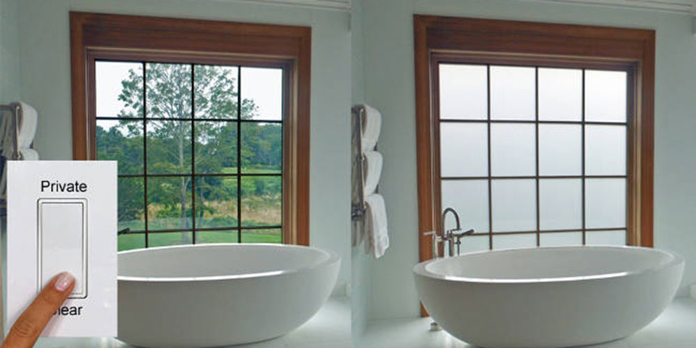 electronic privacy glass perfect for bathrooms electronic house Smart Glass Windows for Home electronic privacy glass perfect for bathrooms