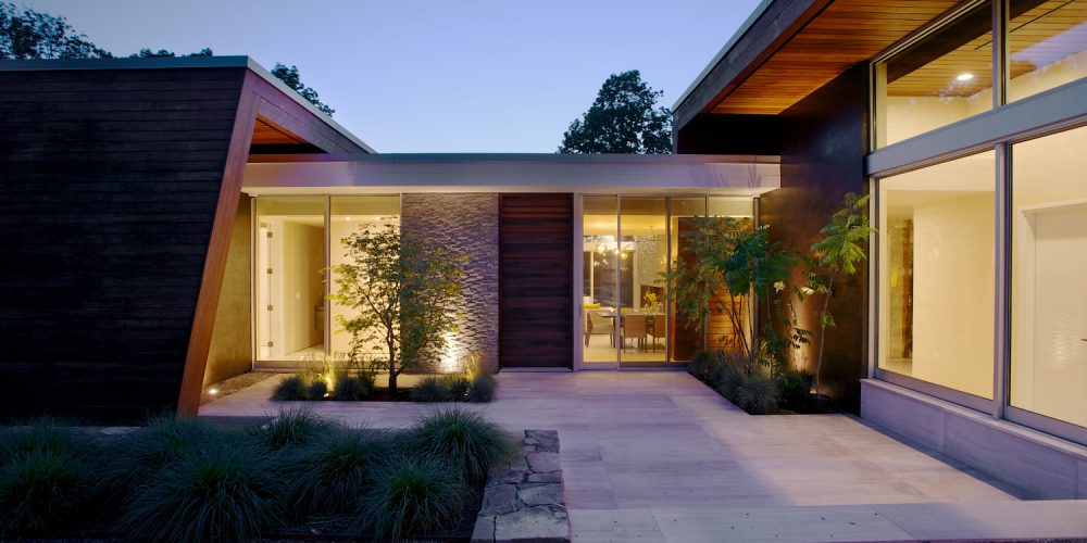 5 ways an automation system can enhance the appearance of - House behind a house designs ...