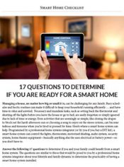 Smart Home Checklist