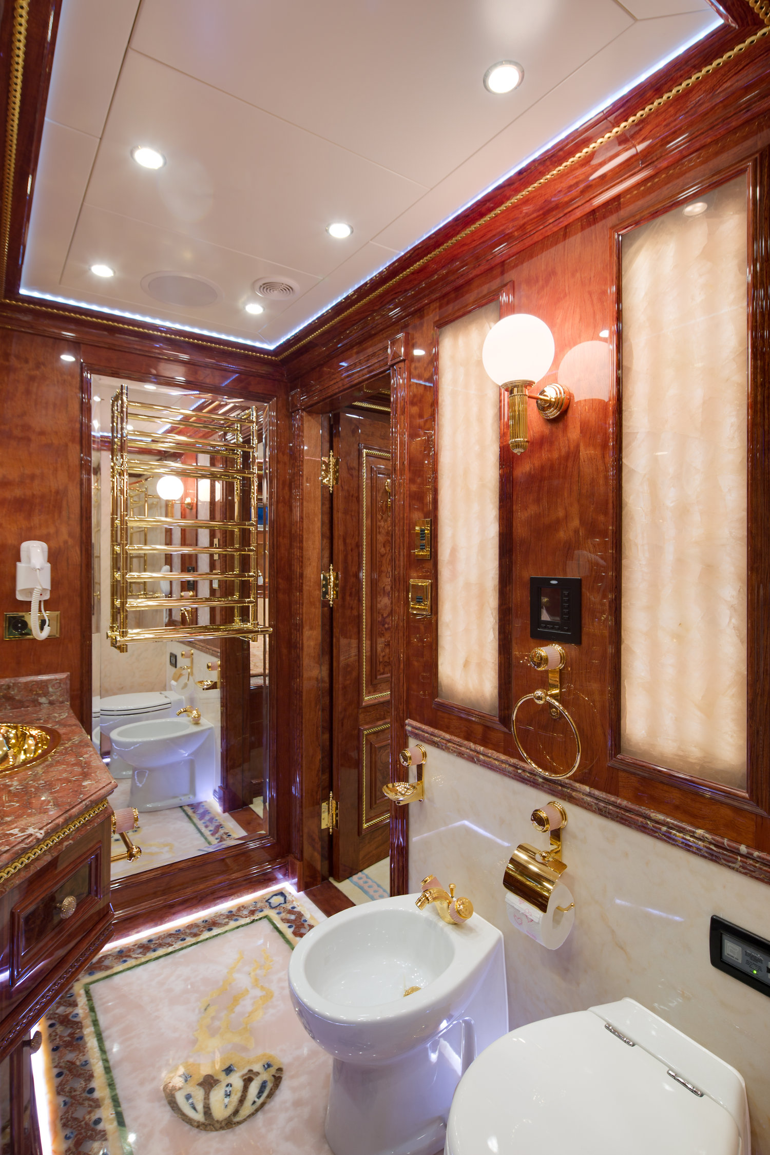 Lutron lighting takes to the high seas in a 130 foot yacht a failsafe design continued through the 45 lutron custom engraved brass plated keypads that would adorn the walls of the yacht unlike the head scratching arubaitofo Choice Image