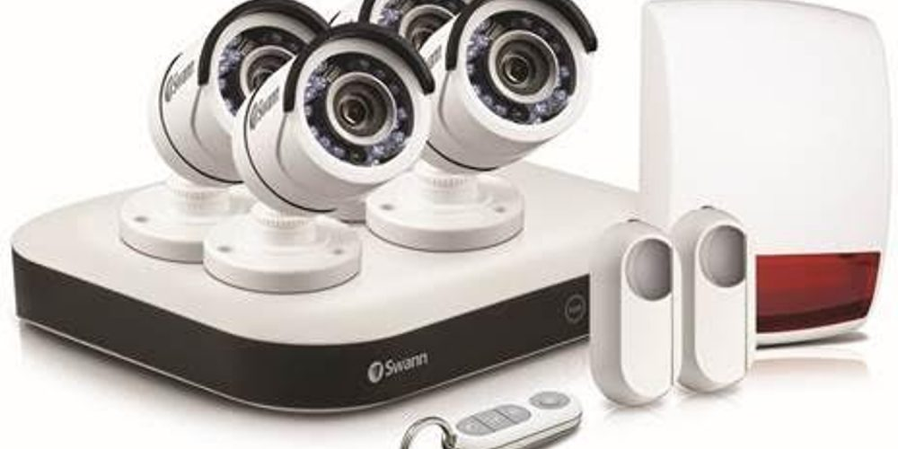 Swann security solution combines HD video surveillance and alarms with  smart home technology.