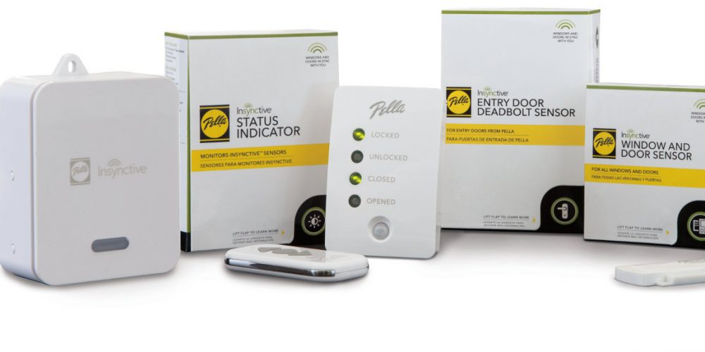 Pella Expands Smart Home Capabilities With Built In Security Sensors