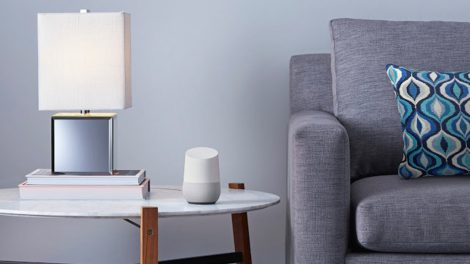 Google's Google Home device is just one of many voice control options for the home.