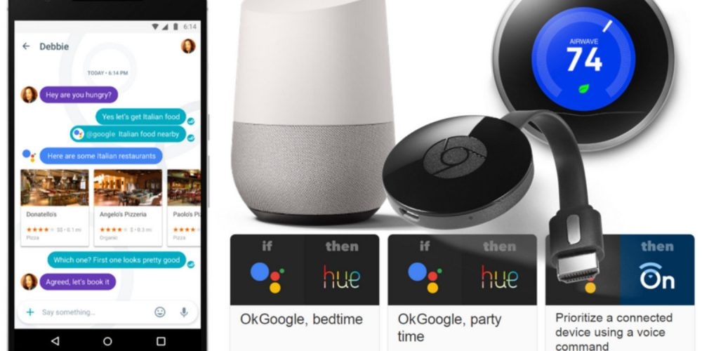 google home assistant nest and cast present one unified smart home