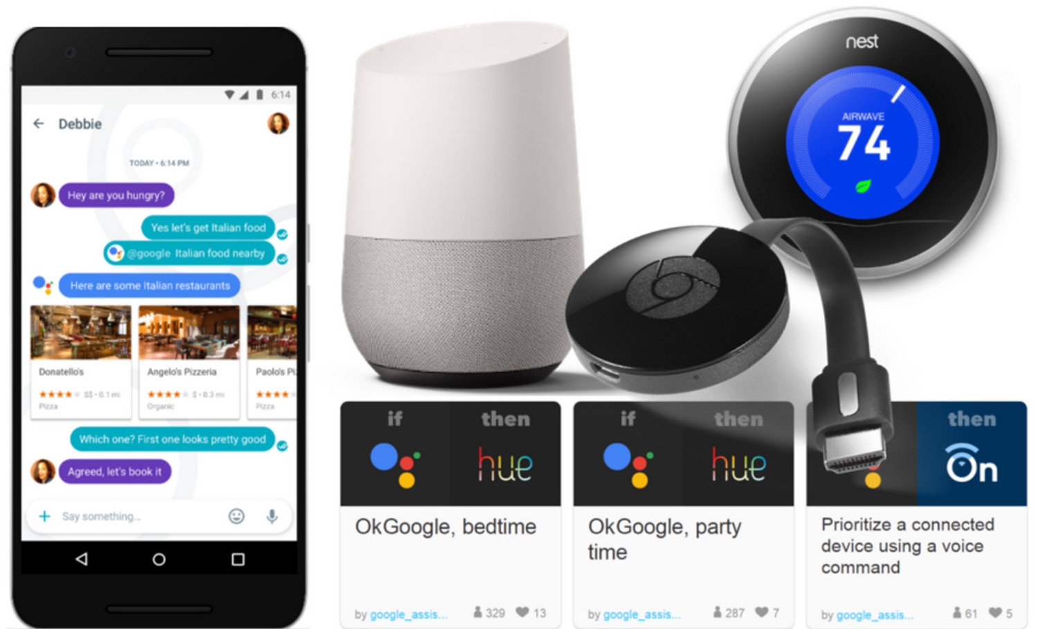 google home assistant nest and cast present one unified smart home ecosystem electronic house. Black Bedroom Furniture Sets. Home Design Ideas