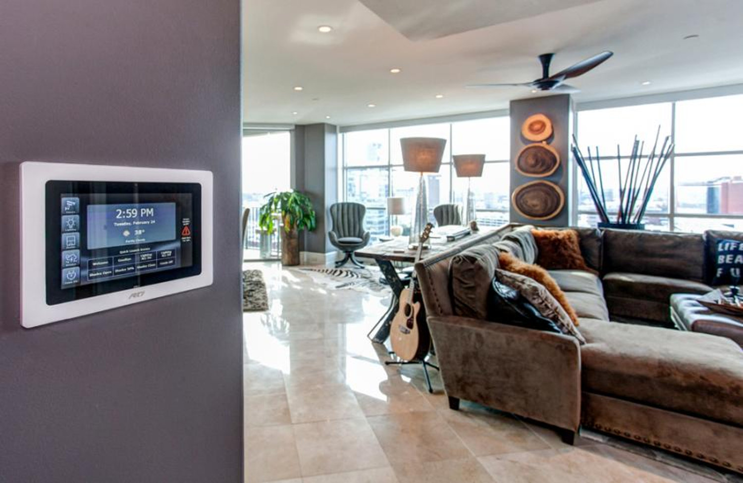 Condo Gets Outfitted With Automated Cutting Edge