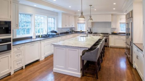 Design and installation by Elite Media Solutions, Wellesley Hills, Mass.