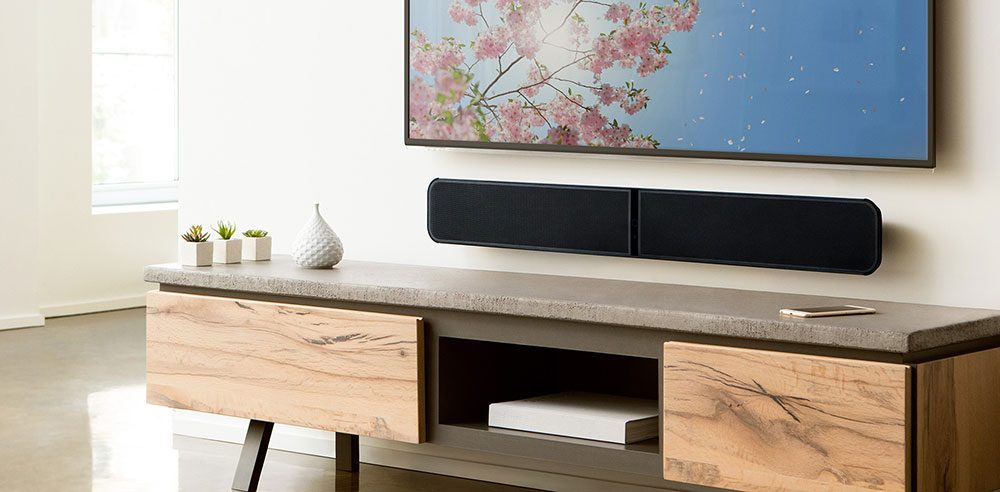 CES 2107: Bluesound Unveils Wireless Subwoofer and TV Stand ...