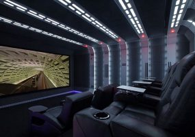 Star Wars, Home Theater, 4K, Projector, screen, Rogue One