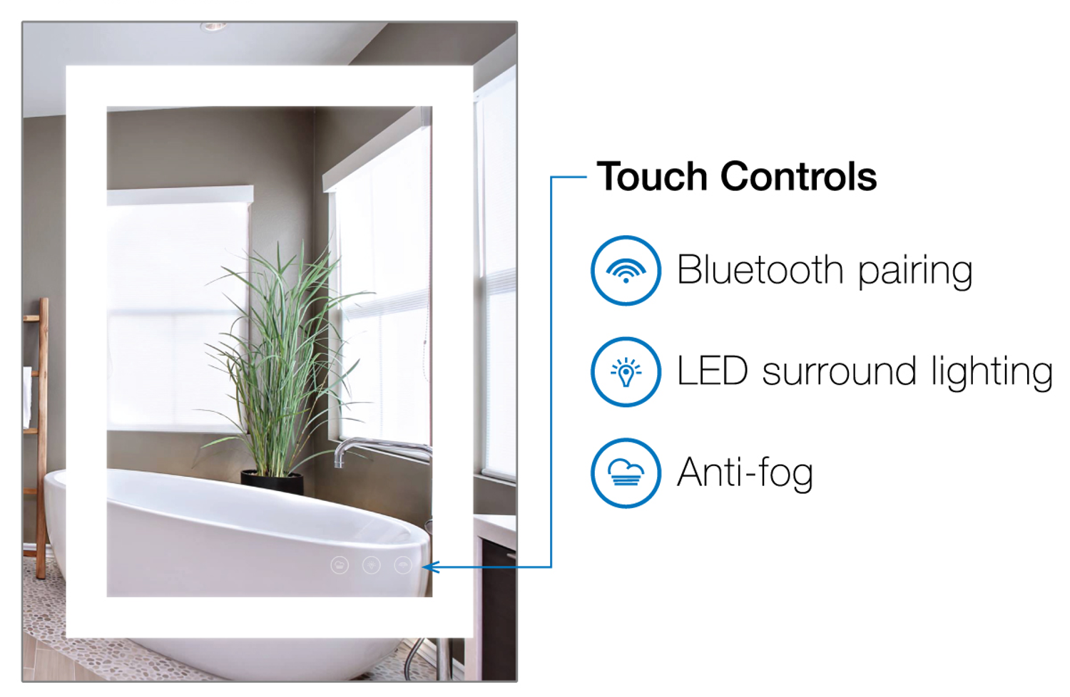 Bluetooth Bathroom Mirror Youtube smart bathroom mirror sings and answers your phone calls; vent