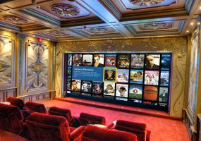 Home Theater, epic, video, projector, screen