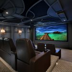 historic Home, Home theater, ELAN, Projector, Screens,