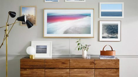 Samsung picture frame TV