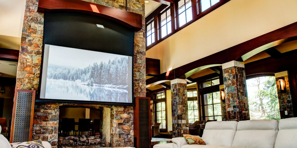Projection home theater