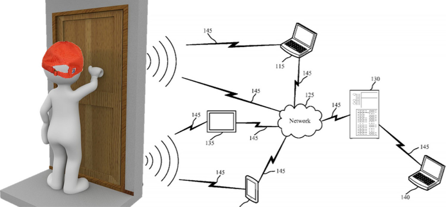 Artificial intelligence at the front door new home tech for Door knocking sound