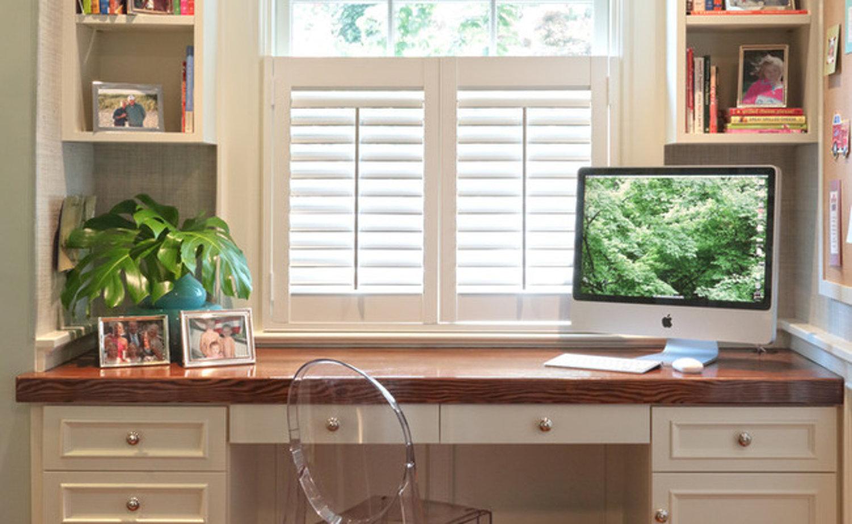 Компьютерные столы в интерьере - ищем удобное место- ihouzz..