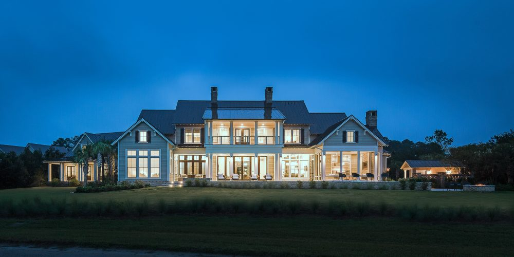 When building their new 9000 square foot home in bluffton s c the homeowners sought to seamlessly fuse classic country design with innovative modern