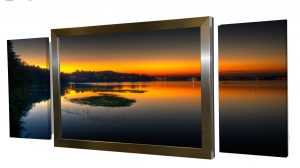 Media Room Magic: Conceal Your TV and Speakers with Custom Artwork