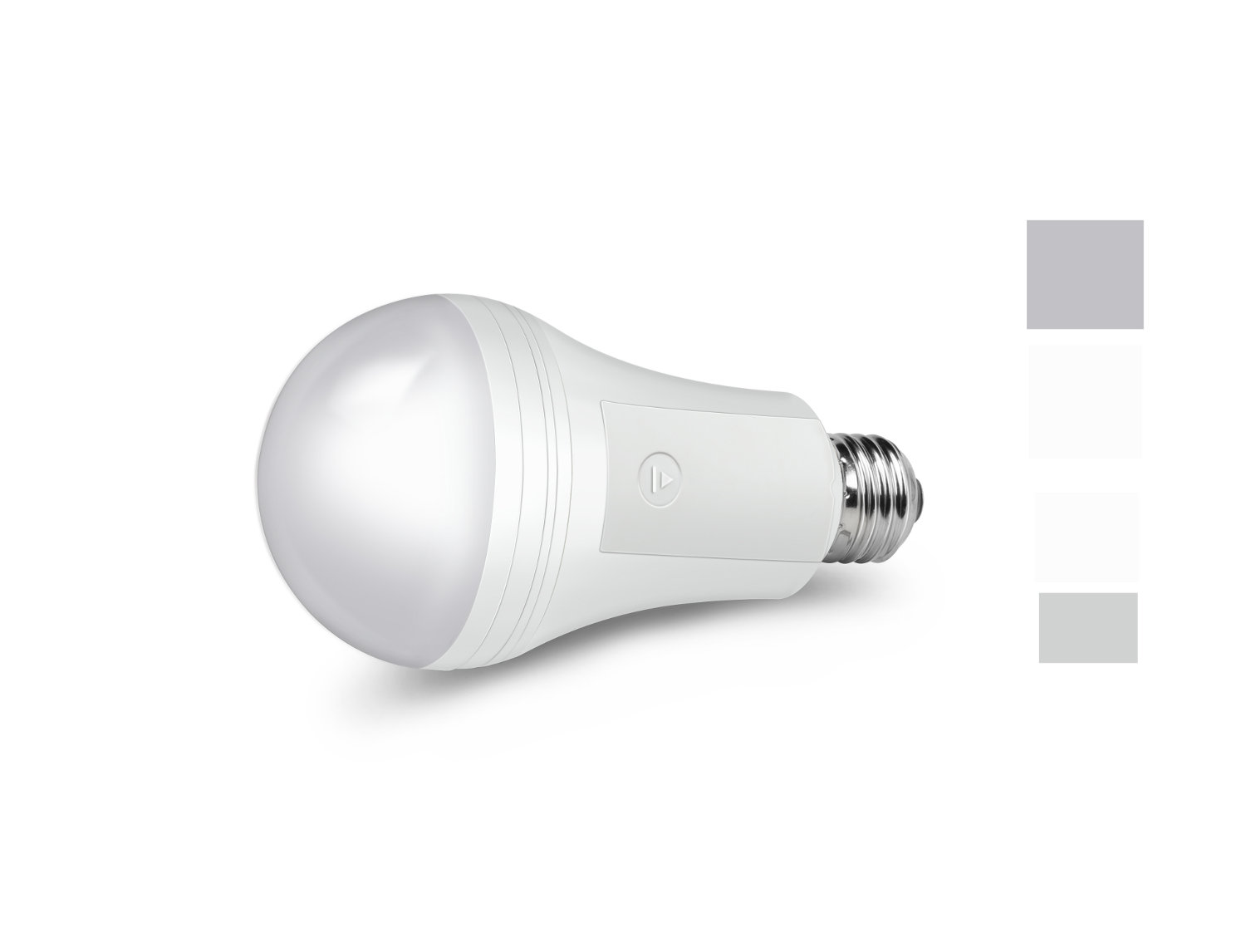 smart led light bulb shines even during a power outage electronic house. Black Bedroom Furniture Sets. Home Design Ideas