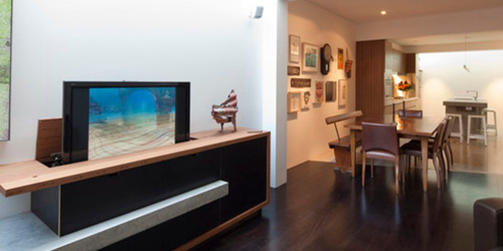 No Space For A Tv Wall Mount Try One Of These 5 Creative Solutions Electronic House