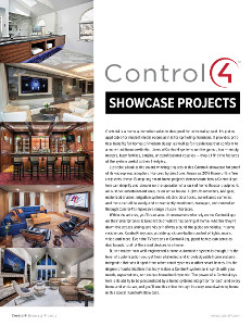 Control4 is a Home Automation and Smart Home solution designed for universal appeal.  sc 1 st  Electronic House & Control4 Showcase Home of the Year Smart Home Projects Download ...