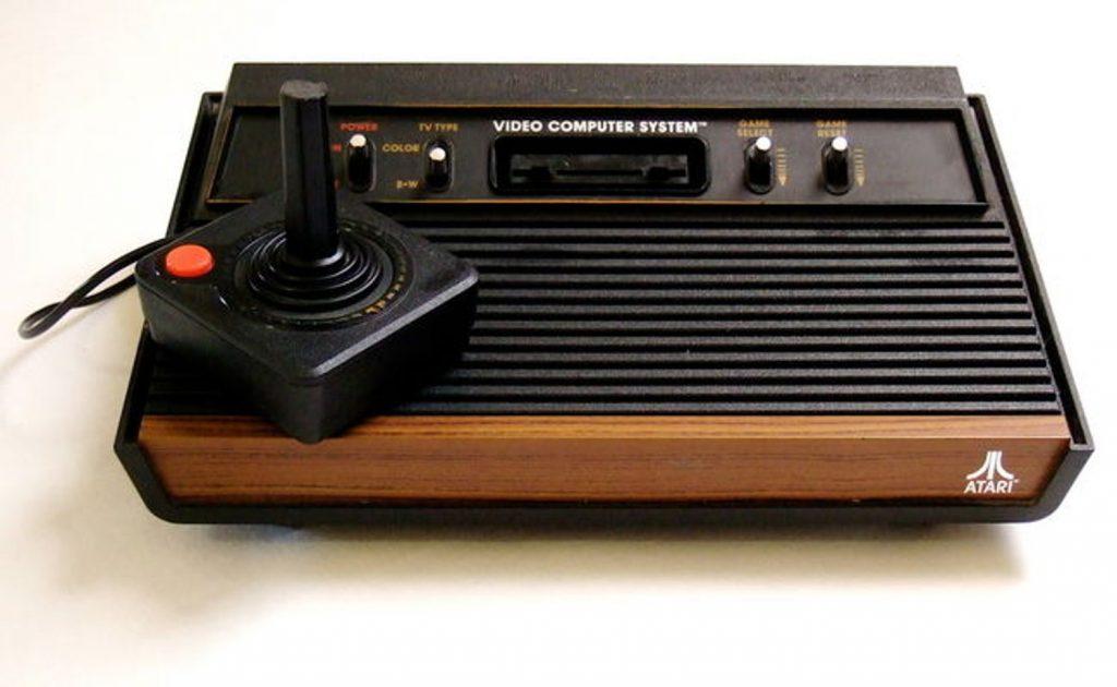 Atari 2600 game console original photo on houzz - Original atari game console ...